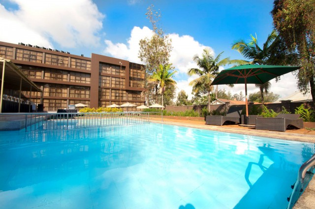 Boma Inn Eldoret Swimming Pool View