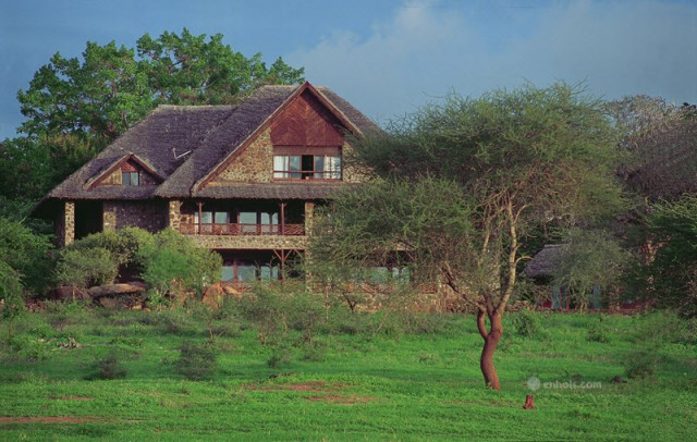 Kilaguni Serena Safari Lodge - Exterior of New Wing