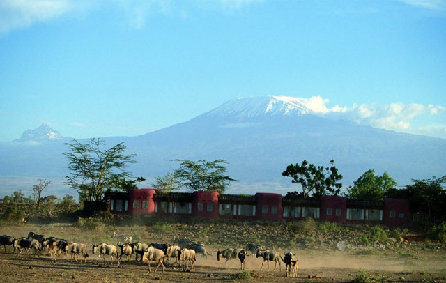 Serena Amboseli - Exterior of Lodge