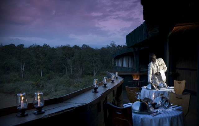 Serena Mountain Lodge Dining